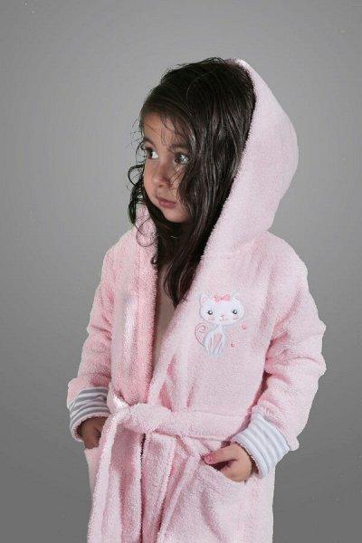 ⚡Срочно!Впервые!Акция на Хиты ⚡Ликвидация💕Турция💕Лучшее👍  — Детские халаты от 2 до14 лет. Х/б,Бамбук — Одежда для дома