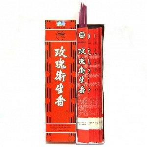 Благовония китайские безосновные 30см тонкие в пакетиках Роза