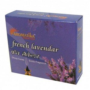 Конусные благовония French Lavender ФРАНЦУЗСКАЯ ЛАВАНДА масала