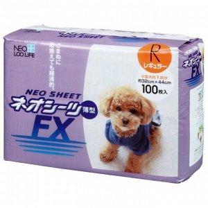 """""""Neo Loo Life"""" """"NEO SHEET FX"""" Пелёнки впитывающие для домашних животных, тонкие (32*44 см), 100шт"""