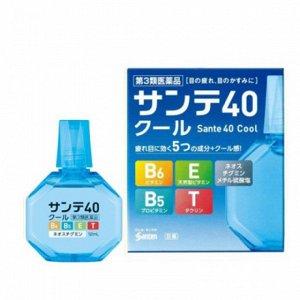 Sante 40 Cool - Возрастные капли  для глаз