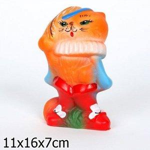 Кот в сапогах большой ПВХ  16 см.