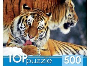 Пазлы 500 Два тигра