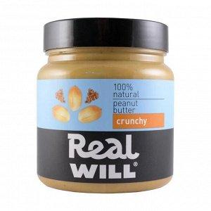 Real Will Арахисовая паста (330 гр.)