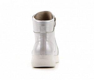 Ботинки натуральная кожа белый