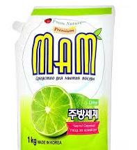 Средство для мытья посуды, овощей и фруктов с ароматом лайма 1л