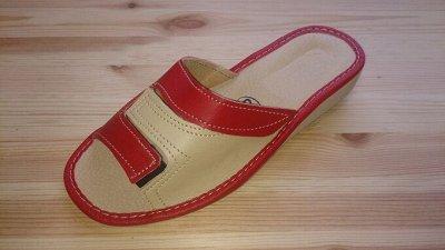 Польские кожаные тапочки. Высокое качество и комфорт (9) — Женские тапочки — Тапочки