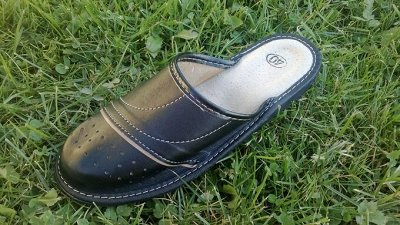 Польские кожаные тапочки. Высокое качество и комфорт (10) — Мужские тапочки — Тапочки