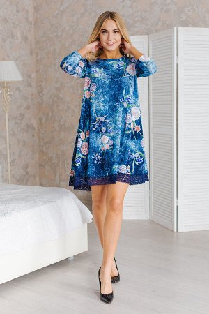 Платье женское Камилла-2 голубой