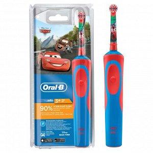 Электрическая зубная щетка Braun Oral-B Vitality Cars Kids