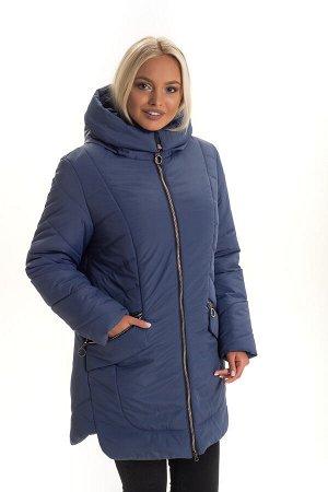 Женская зимняя куртка от производителя Код: 132 -1 джинс