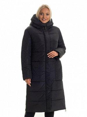 Пуховик женский зимний Каталог Код: 137 - 1 чёрный