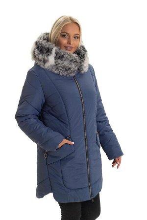 Зимняя куртка от производителя с мехом Код: 132 джинс. чбк