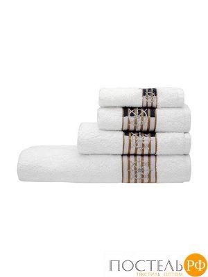 Калипсо 90*145 белое полотенце 70% Бамбук 30% Тенсел