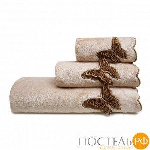 ШАДО 30*50 бежевое полотенце махровое