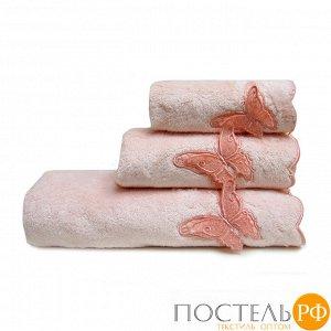 ШАДО 70*140 персиковое полотенце махровое