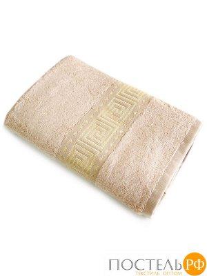 Мокко 70*140 бежевый полотенце Бамбук 70% Тенсел 30%