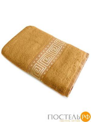 Мокко 70*140 горчичное полотенце Бамбук 70% Тенсел 30%