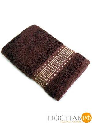 Мокко 70*140 коричневое полотенце Бамбук 70% Тенсел 30%