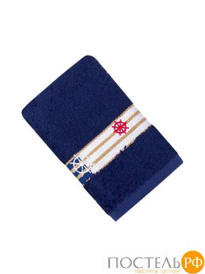 Калипсо 30*30 синяя салфетка 70% Бамбук 30% Тенсел