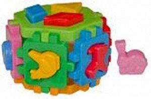 """Куб """"Умный малыш"""" Гексагон 1, 15см пакет"""