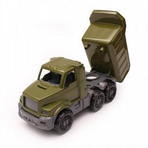 """Машинка Самосвал """"Добрыня"""" военный , 20 см."""