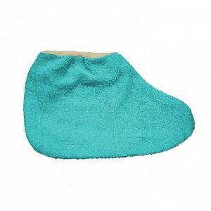 JN Носки для парафинотерапии махровые голубые