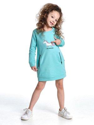 Платье  UD 3828 бирюза