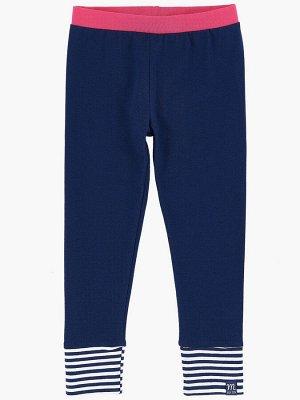Бриджи на манжете (98-122см) UD 0904(5)синий
