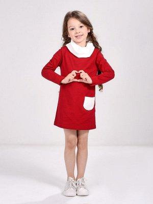 Платье  UD 0256 бордо