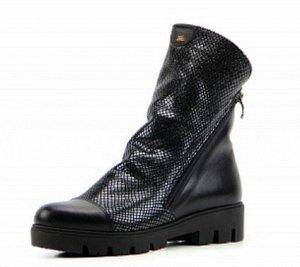 Ботинки 233.sandra.black-eng Мех