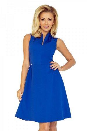 Платье NUMOCO 133-1  Платье с воротником-стойкой и изящным вырезом. На тонкой подкладке. Выполнено из качественного материала. З