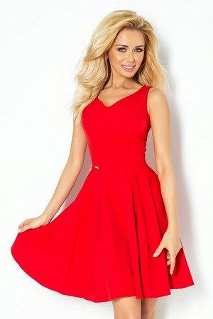 Платье NUMOCO 114-3  Платье-клёш с декольте в форме сердца. Состав: полиэстер 95%, эластан 5%