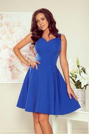 Платье NUMOCO 114-12  Платье-клёш с декольте в форме сердца. Состав: полиэстер 95%, эластан 5%