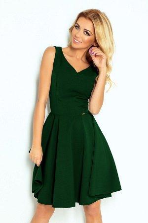 Платье NUMOCO 114-10  Платье-клёш с декольте в форме сердца. Состав: полиэстер 95%, эластан 5%