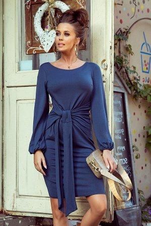 Платье NUMOCO 275-2 вискоза  Удобное повседневное платье, завязывается на талии. Изготовлено из приятного на ощупь гибкого матер