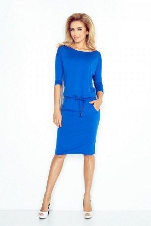 Платье NUMOCO 13-16  Платье из гибкой вискозы польского производства. Спортивный стиль. Рукав 3/4. При выборе размера ориентируй