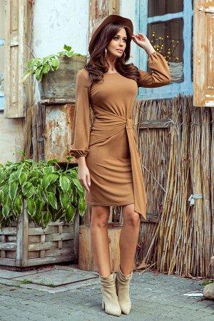 Платье NUMOCO 275-1 вискоза  Удобное повседневное платье, завязывается на талии. Изготовлено из приятного на ощупь гибкого матер