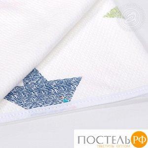 2280 Одеяло-покрывало трикотажное 100*140 Искорка