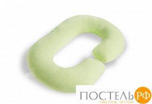 "Наволочка трикотажная ""ROGAL"", цвет салатовый NRT-130/5"