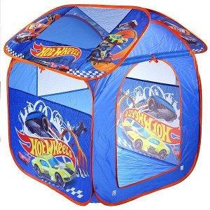 Палатка детская игровая HOT WHEELS 83х80х105см, в сумке Играем вместе