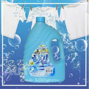 Кондиционер для белья Sandokkaebi Soft Aroma Aqua Blue Свежесть океана, флакон, 2100 мл