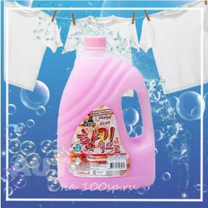 Кондиционер для белья Sandokkaebi Soft Aroma Цветочный, флакон, 2100 мл