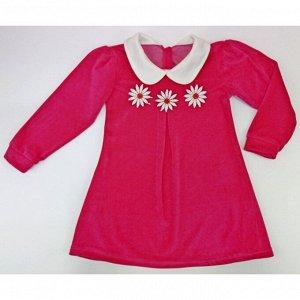 Платье 724/42 (велюр, малина)