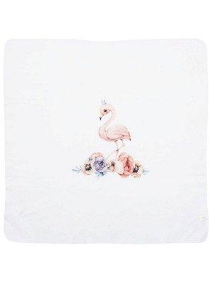 """Трикотажный плед """"Принцесса фламинго"""""""