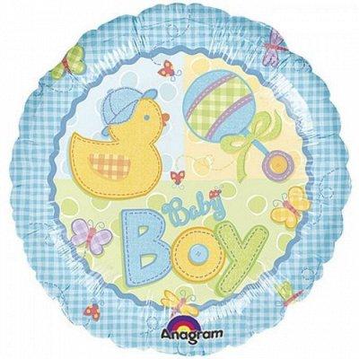 ❗❗Праздник на ура.❗❗Елочные украшения. — Фольгированные шары с рисунком и надписью. — Воздушные шары, хлопушки и конфетти