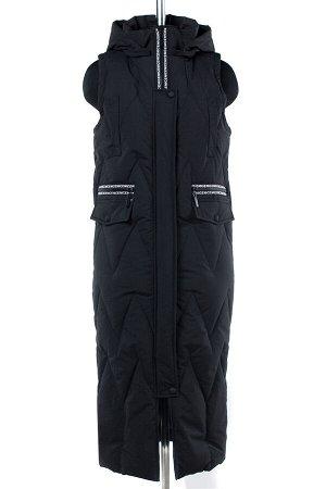 04-1899 Куртка демисезонная (синтепон 150) Плащевка черный