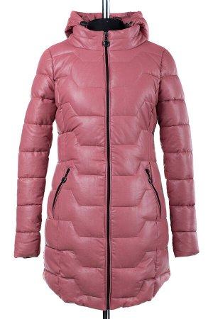 04-1700 Куртка демисезонная (Синтепон 200) Эко-кожа розовый