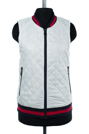 04-2002 Куртка демисезонная (синтепон 80) Плащевка белый