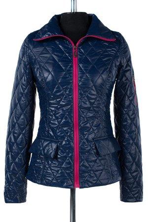 04-1439 Куртка демисезонная University (синтепон 100) Плащевка синий